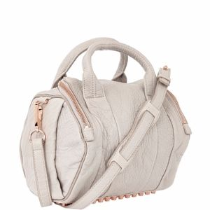 Alexander Wang Lilac Rose Gold Rockie Purse Rocco